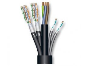 Sommer Cable SC-MONOCAT POWER 212/Black 3x2,5mm?P +