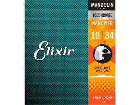 Elixir 11500 Mandolin 80/20 Bronze Light