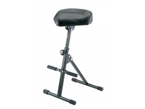 K&M 14045 Stool black leather