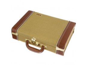 "Fender ""Mississippi Sax"" Harmonica Case, Tweed"