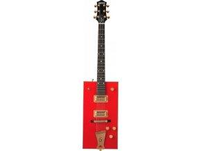 """Gretsch G6138 Bo Diddley, """"G"""" Cutout Tailpiece, Ebony Fingerboard, Firebird Red"""