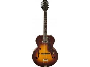 Gretsch G9555 New Yorker Archtop Guitar with Pickup, Semi-gloss, Vintage Sunburst