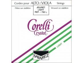 Corelli Strings For Viola Crystal Light