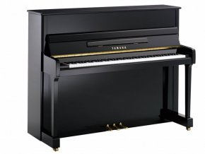 YAMAHA P116M POLISHED EBONY CHR.
