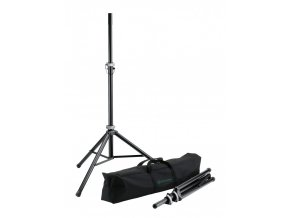K&M 21459 Speaker stand package black