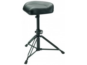K&M 14055 Drummer's throne »Nick« black leather