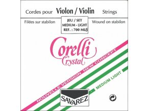 Corelli Strings For Violin Crystal Light
