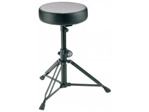 K&M 14015 Drummer's throne black leather