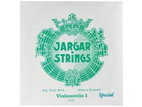 Jargar Cello Medium Set silver