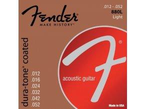 Fender Dura-Tone 880L 80/20 Coated 12-52
