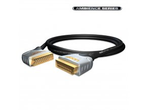 SOMMER HICON Ambience SCART angled<>SCART 3,00m