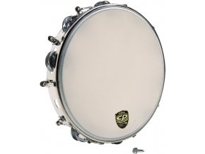 Latin Percussion CP392 Tunable Metal Tambourine