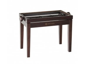 K&M 13730 Piano bench - wooden-frame walnut matt finish
