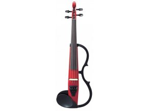 YAMAHA SV-130S Silent Violin SET Candy Apple Red