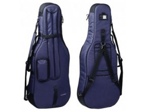 GEWA Cello Gig-Bag GEWA Bags PRESTIGE 3/4 blue