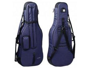 GEWA Cello Gig-Bag GEWA Bags PRESTIGE 1/2 blue