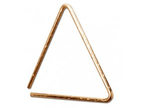 "SABIAN 10"" HAND HAMMERED B8 BRONZE TRIANGLE"