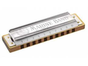 HOHNER Marine Band Classic 1896/20 D-harmonic mol