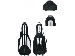 GEWA Cello Gig-Bag JAEGER 1/2 black/anthracite