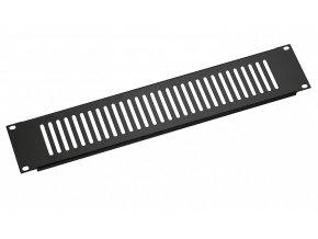 K&M 28451 Ventilation panel black, 1 space, 0,26 kg