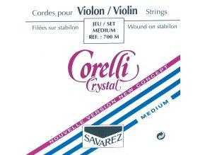 Corelli Strings For Violin Crystal Medium