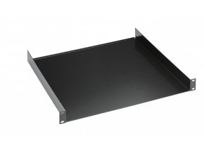 "K&M 28481 19"" Rack shelf black, 1 space, 300 mm, 1,84 kg"