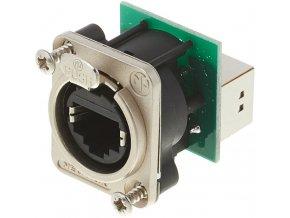 NEUTRIK RJ45 Ethernet Durchgangs-
