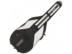 GEWA Double bass gig-bag JAEGER ROLLY 4/4 black/anthracite