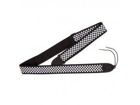 Fender Nylon Checker Board Strap, Black/White