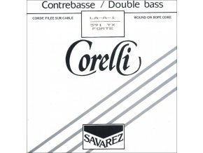 Corelli Strings For Double Bass Solo tune Extra strong