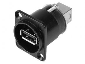 SOMMER NEUTRIK USB-A <-> USB-B Einbaubuchse /
