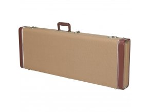 Fender Pro Series Stratocaster/Telecaster Case - Tweed with Orange Plush