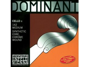Thomastik Strings For Cello Dominant nylon core Medium