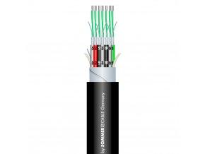 Sommer Cable SC-MISTRAL MCF-02 Studiom. /Black