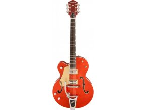 Gretsch G6120SSU-LH Brian Setzer Nashville with Bigsby, Left-Handed, Tiger Flame Maple