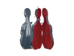 GEWA Cases Cello case Idea Futura Anthracite/red