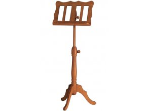 K&M 117 Wooden music stand cherrywood