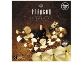 "SABIAN PARAGON PERFORMANCE SET (14"",16"",22"")"