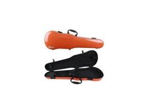 GEWA Cases Form shaped violin cases Air 1.7 orange highgloss