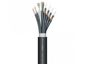 Sommer Cable SC-TRICONE TwoFourOne 241P PVC, Black