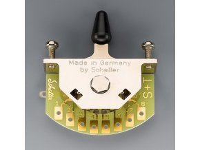 Schaller for Stratocaster (5-way-switch), Version S, Nickel,