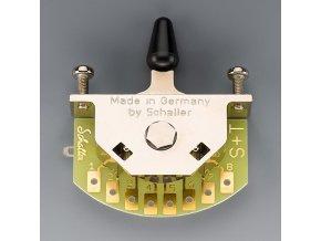 Schaller for Stratocaster (5-way-switch), Version S, Nickel,