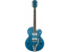 Gretsch G6120SH-HBLU Brian Setzer 2-Tone Hot Rod with Bigsby, Harbor Blue