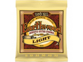 Ernie Ball Earthwood Bronze Light.011-.052