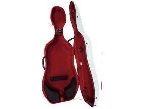 GEWA Cases Cello case Idea Futura White/red