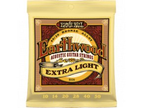 Ernie Ball Earthwood Bronze Extra Light.010-.050