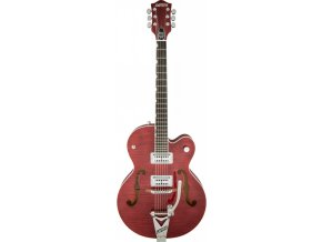Gretsch G6120SH-RRED Brian Setzer 2-Tone Hot Rod with Bigsby, Roman Red