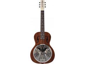 Gretsch G9210 Boxcar Square-Neck, Mahogany Body Resonator Guitar, Natural
