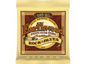 Ernie Ball Earthwood Bronze Rock & Blues.010-.052