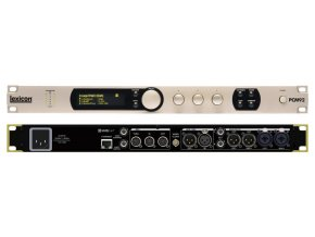 Lexicon stereo reverb/effect procesor, Analog/Digital I/O, Ethernet, 96kHz